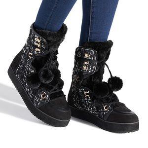 Lashawnda Low Platform Bootie / Boots